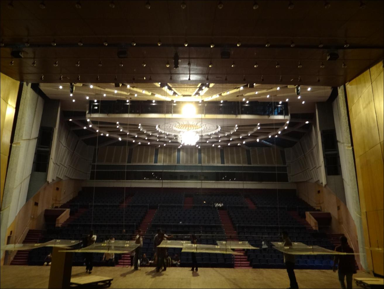 Interior View of Jamshed Bhabha Theatre, NCPA MUMBAI