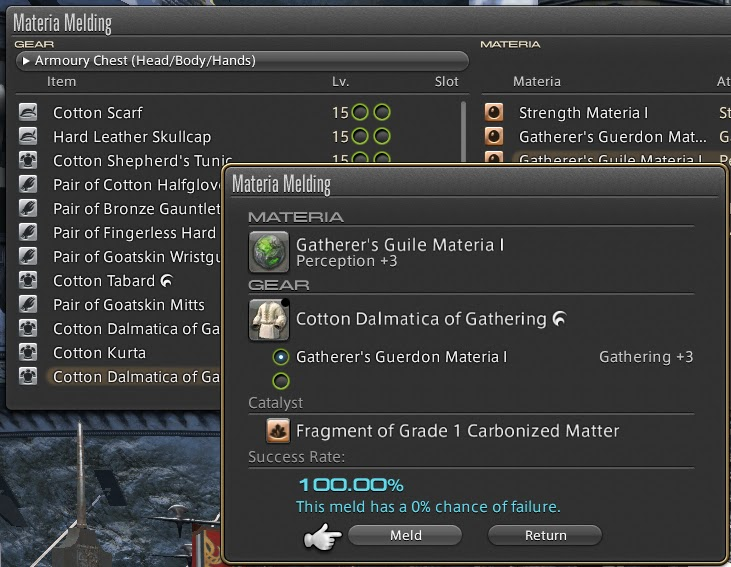 Ffxiv How To Hq Item Crafting