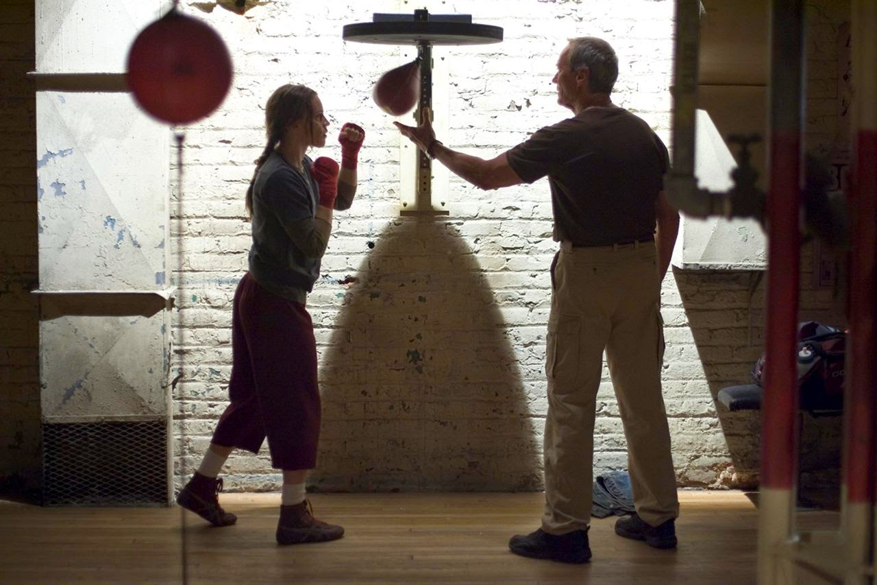 million dollar baby-hilary swank-clint eastwood