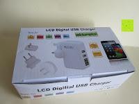 Verpackung: [Smart Port & LCD Bildschirm] aLLreLi 24W (5V 4,8A) 2-Port USB Reiseladegerät Kit mit austauschbarem (EU,UK,US,UK) Stecker - [Universal] Ladegerät für Smartphones & Tablets (z.B. iPhone 6S / 6 Plus / 5S / 5C / 4S, iPad Air 2 / Mini 3 / 4, Samsung Galaxy S6 Edge / S5 / S4 / S3, Note 5 / 4 / 3 / 2, Galaxy Tab 3 / 2, HTC One M9 / M8, Google Nexus 5 / 7 / 10) [Farbe: Weiß]