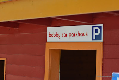 Parkhaus für Kinderfahrzeuge