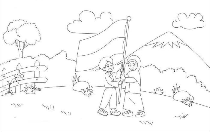 Sketsa Hari Kemerdekaan Oto Section