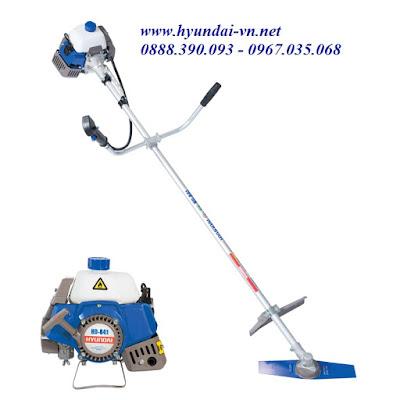 máy cắt cỏ cầm tay Hyundai HD841, máy cắt cỏ chạy xăng hyundai HD841