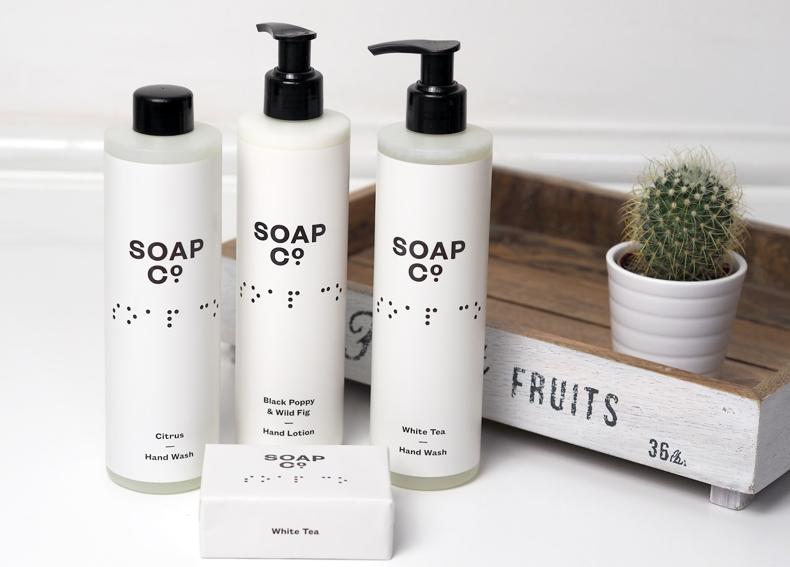 Luxury ethical soap which not only is good but does good too