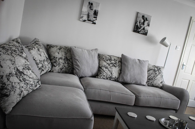 grey living room interiors