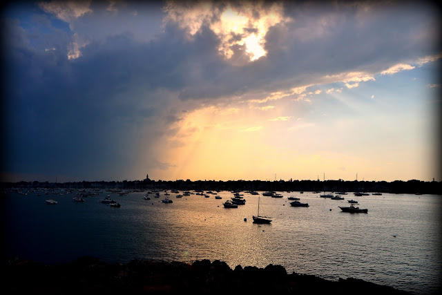 Storm Front, Marblehead Harbor, Massachusetts, shadow