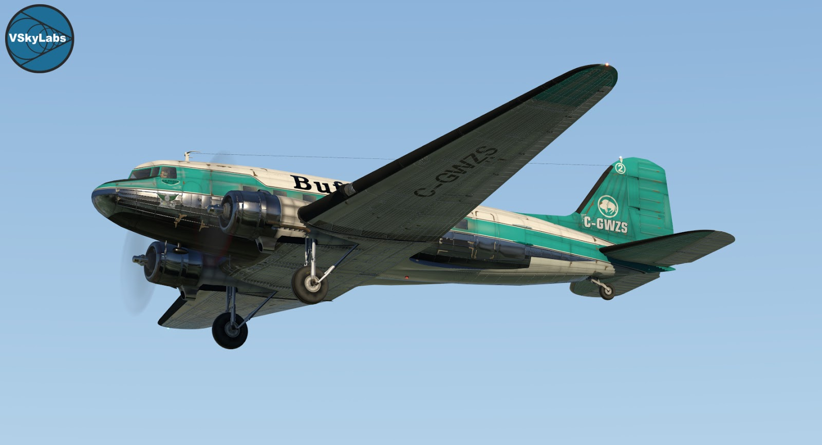 The VSKYLABS DC-3/C-47 Flying Lab