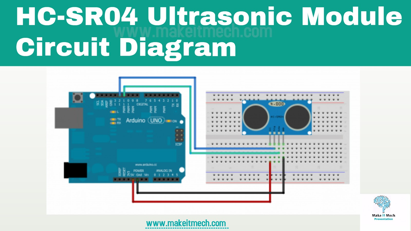 labwire: How to Use Ultrasonic Sensor SR04 with arduino and How ...