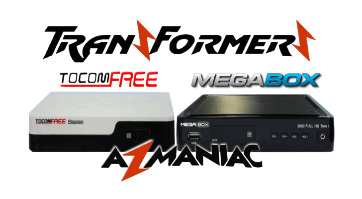 Megabox3000 Transformado em Tocomfree S928