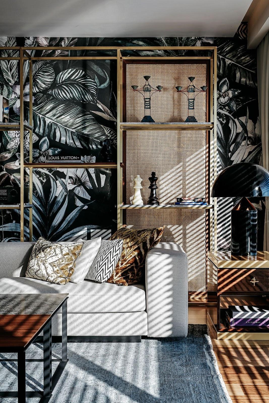 Una casa con muebles de lujo e ideas de lujo para for Muebles de lujo