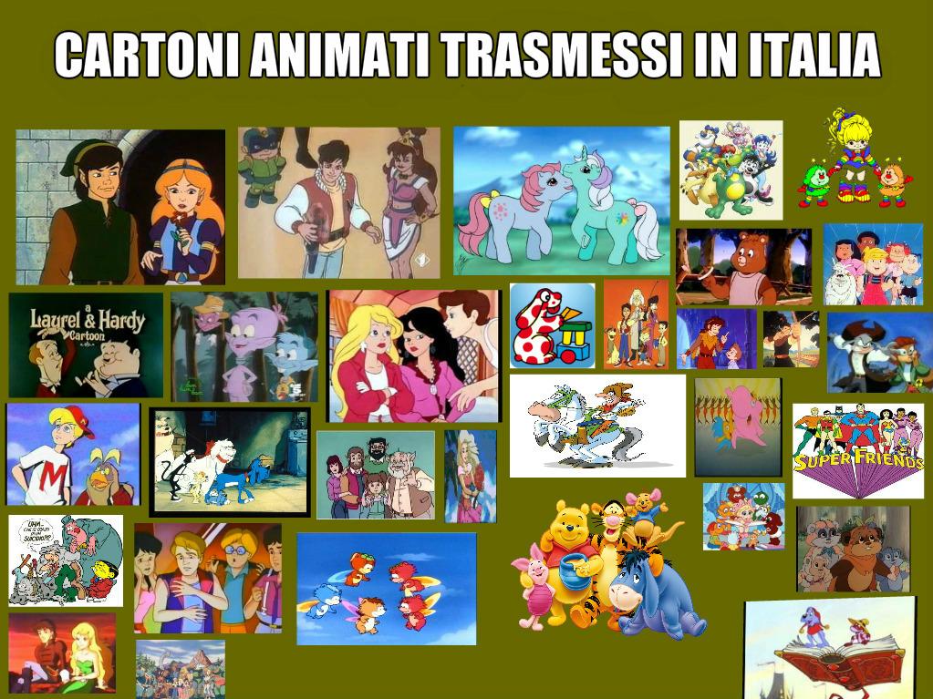 Cartoni animati famosi e popolari trasmessi in italia