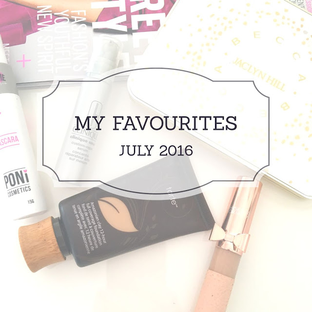 My top 5 beauty products for July 2016