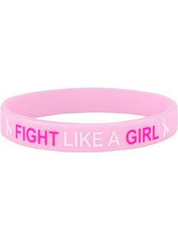Fight Like a Girl Wrist Band