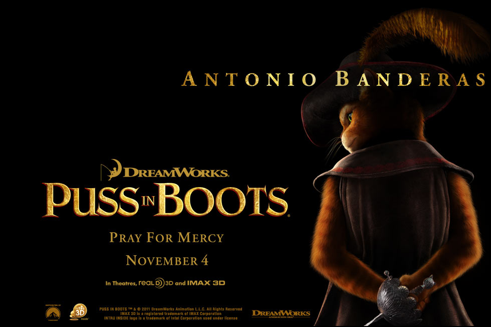 Puss In Boots Film Zwiastun