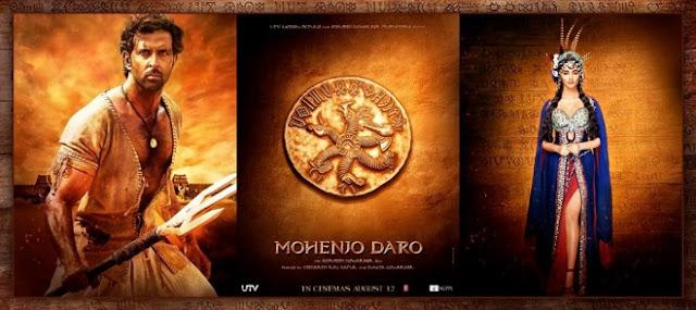 Mohenjo Daro, Mohenjo Daro Hrithik Roshan, Mohenjo Daro Poster