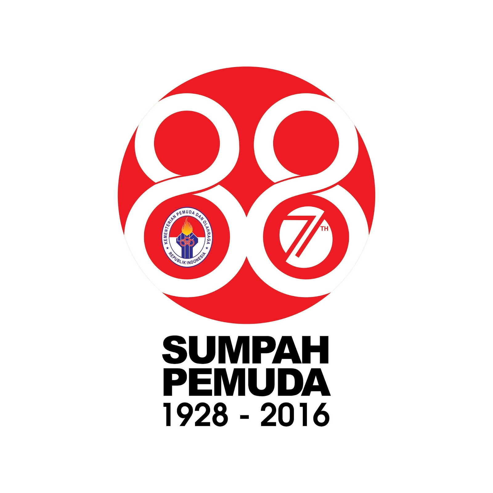 Contoh Spanduk Vector Dan Logo Vector Sumpah Pemuda 88