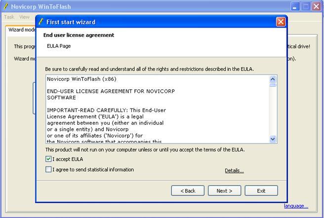 cara menginstall windows 7 dari flashdisk Persetujuan menggunakan wintoflash