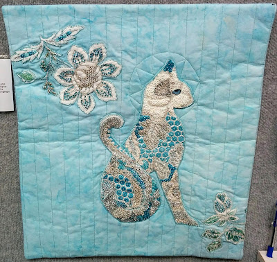 Creates Sew Slow: Creative Construction - Regal Cat by Clare Dixon