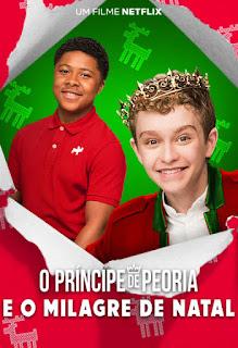 O Príncipe de Peoria e o Milagre de Natal - HDRip Dual Áudio
