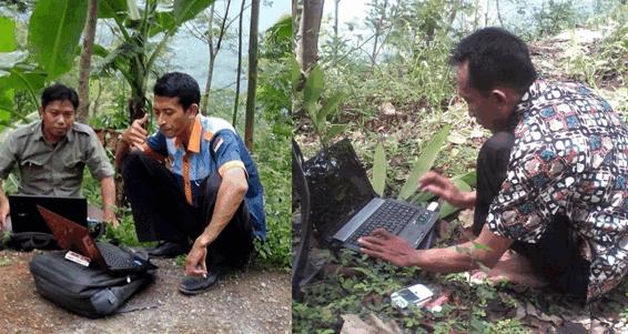 Sang Pemburu di bukit Yang Pelit Signal | Kisah Guru Sekolah Dasar Daerah Terpencil