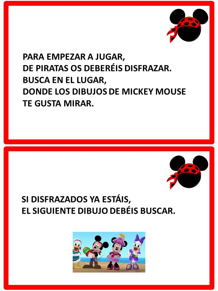 Un rincón dorado: Búsqueda del tesoro de Mickey Mouse