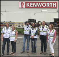 Group at the Kenworth Plant