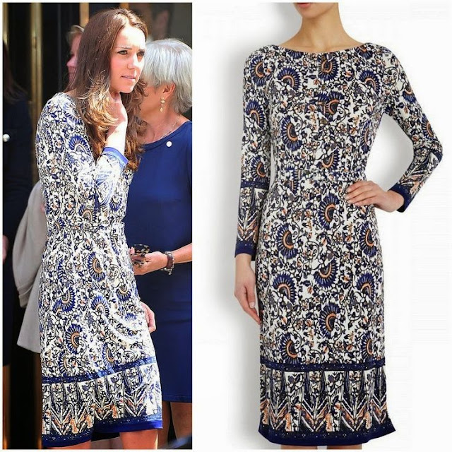 Catherine ,Duchess of Cambridge in Tory Burch