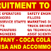 COCO COLA COMPANY - MEGA RECRUITMENT TO USA : APPLY NOW