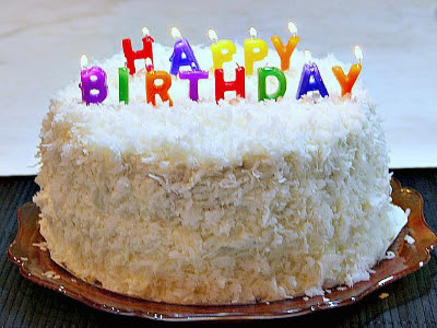 Porque se celebran los cumpleaños con una torta