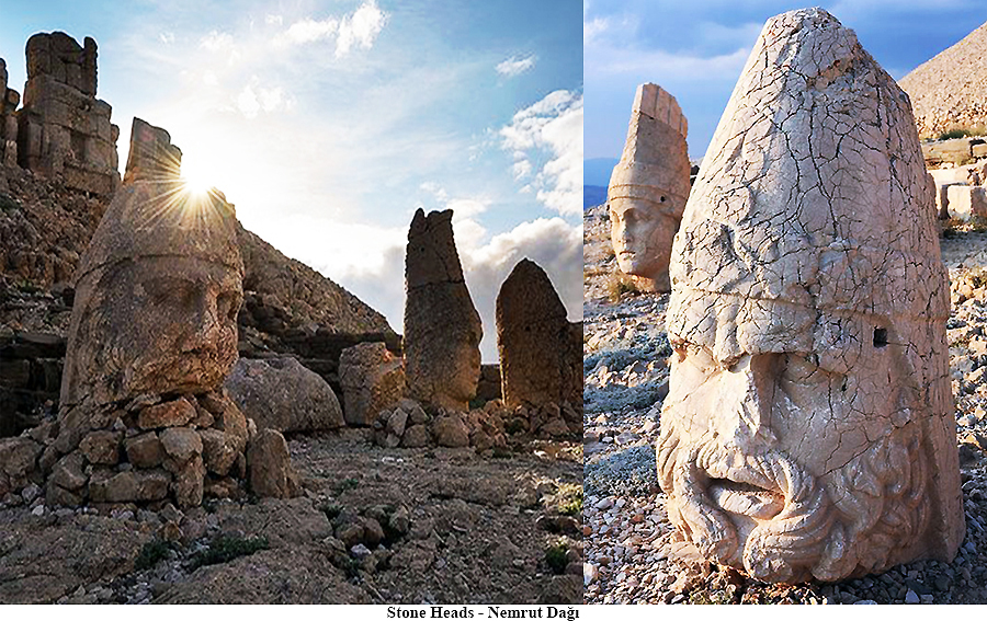 Stone Heads, Nemrut Dağı, Turkey