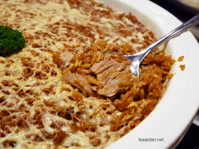 Baked Duck Rice