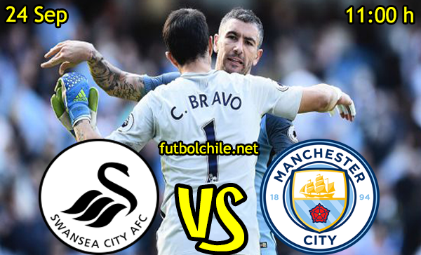 Ver stream hd youtube facebook movil android ios iphone table ipad windows mac linux resultado en vivo, online: Swansea City vs Manchester City