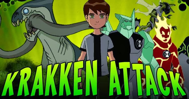 Free Games To Play Now : Ben krakken attack game free play online