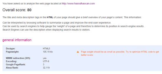 Page Weight Teknik SEO Asas