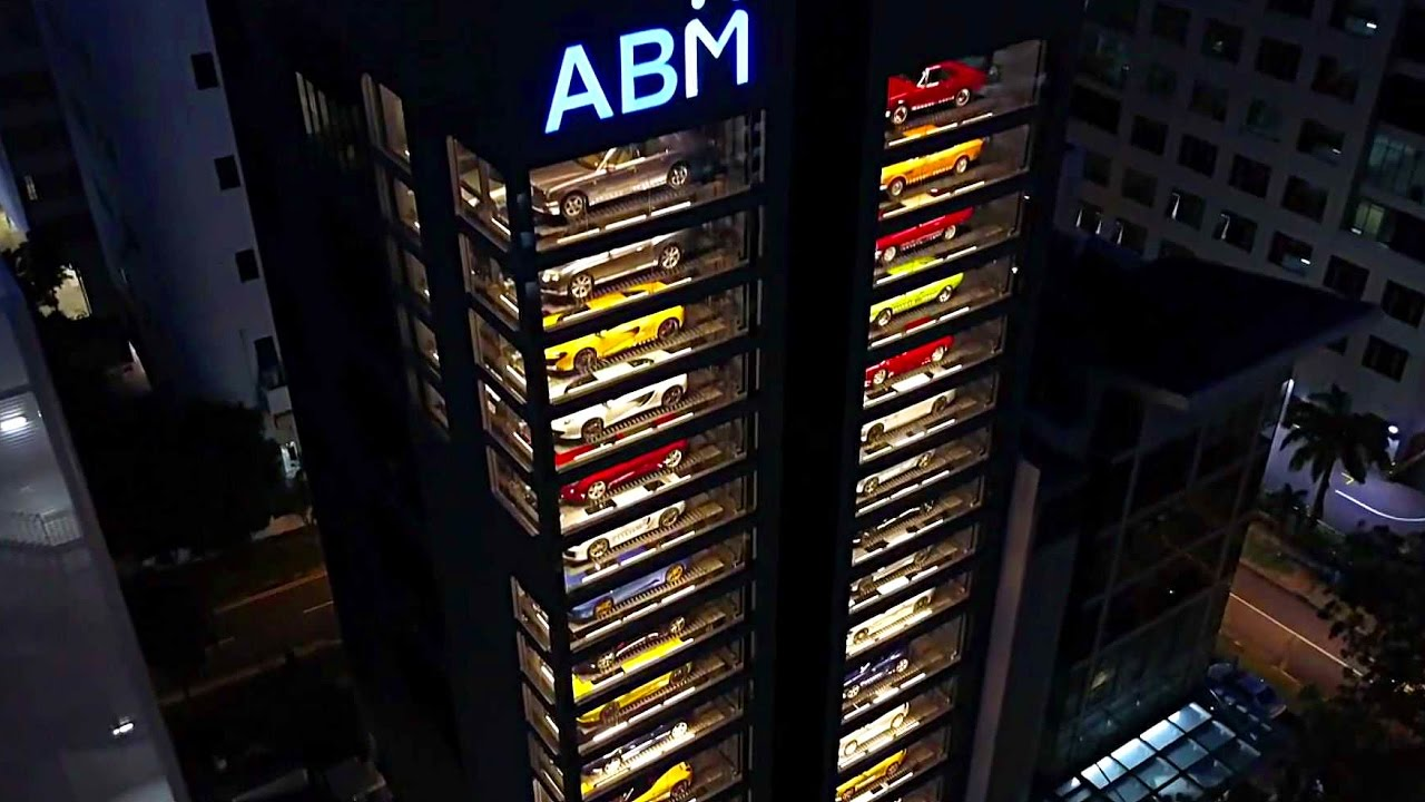 Autobahn Motors, luxury cars, vending machine