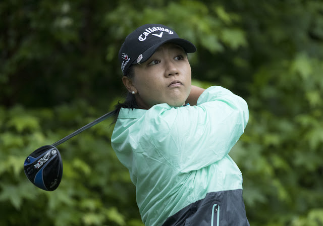 Lydia Ko has made a hole in the one at the US Womens Open