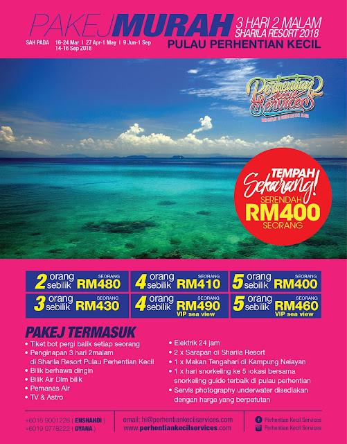 Pakej pulau perhentian kecil terengganu , Pakej pulau perhentian sharila resort , pakej terengganu , pakej pulau malaysia