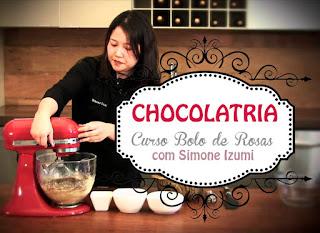 Curso de Bolo de Rosas Chocolatria