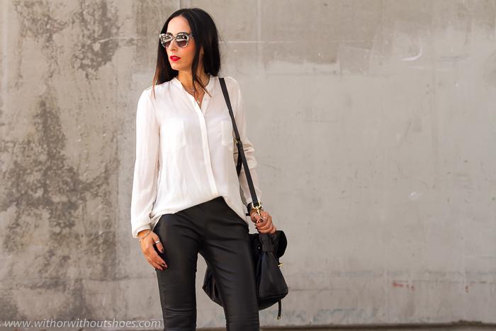 e09de0ee95 STREETSTYLE  MBFWM15 LOOK 3  Pantalones de cuero