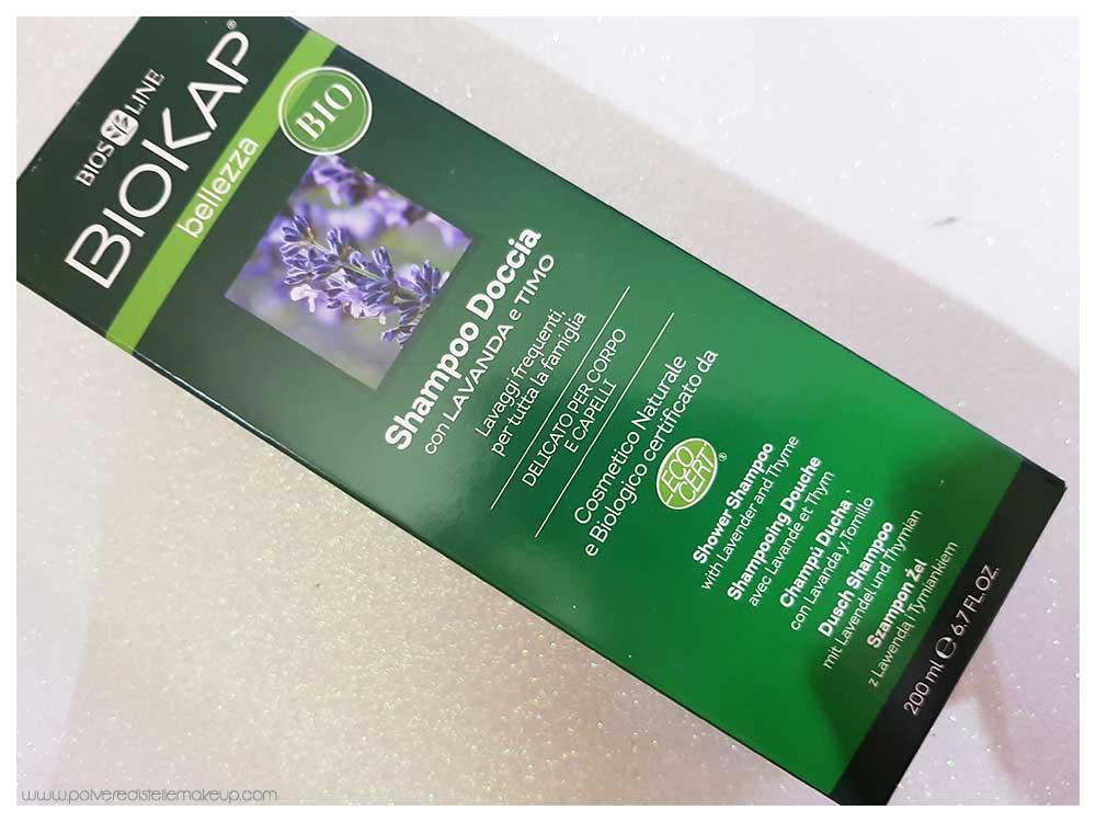 Shampoo doccia Biokap lavanda e timo b60310e3652a