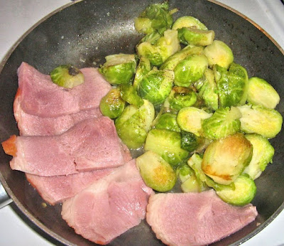 Ham and Brussels Sprouts