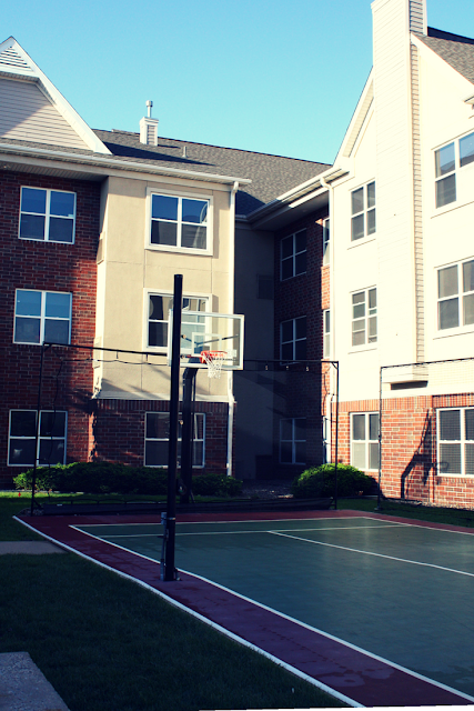 Basketball at Residence Inn