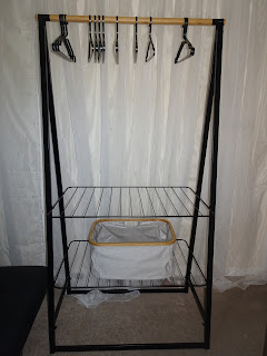 chic clothes dryer and storage unit