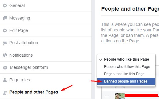 who didn't like your Page