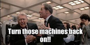 "Adventus: ""TURN THOSE MACHINES BACK ON! TURN THOSE MACHINES BACK ON!!!"""