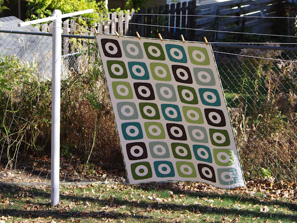 Boxy Rings Quilt #3