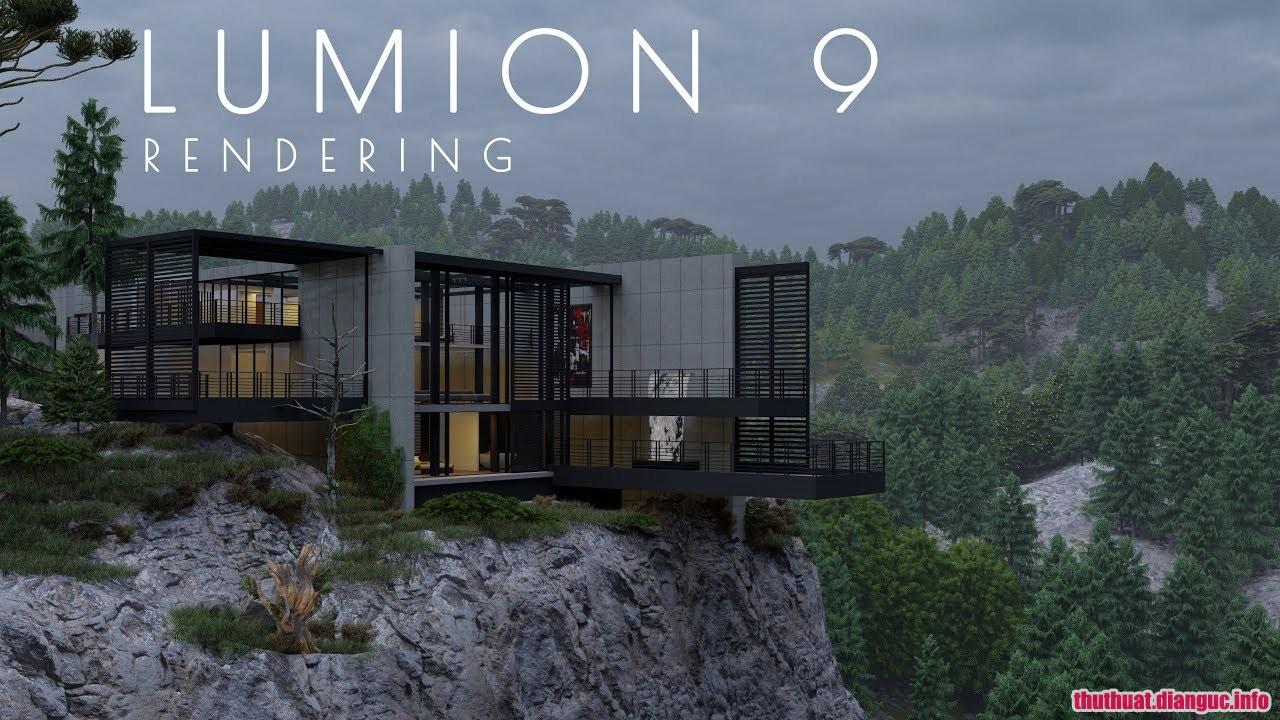 Download Lumion 9.0.2 Full Cr@ck – Phần mềm đồ họa 3D tốt nhất