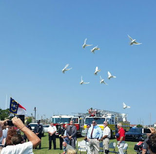 Dove Release 9/11 Nags Head, NC