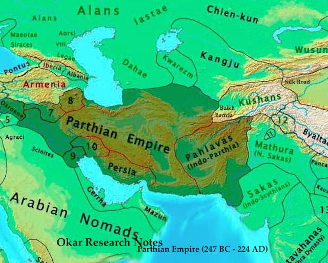 Shakas-Parthians-Kushanas-Dynasty