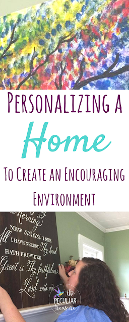 Decorating a home is not always easy, but creating an inviting, encouraging, and personalized touch makes all the difference.